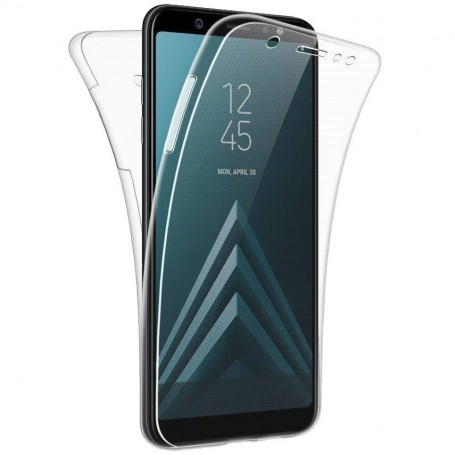 Husa Samsung Galaxy J4+ Plus (2018) - Silicon Tpu Full 360 ( Fata+Spate) , transparenta la pret imbatabile de 35,00lei , intra pe PrimeShop.ro.ro si convinge-te singur