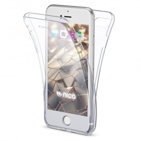 Husa iPhone 6 / 6s - Silicon Tpu Full 360 ( Fata+Spate) , transparenta la pret imbatabile de 35,00lei , intra pe PrimeShop.ro.ro si convinge-te singur