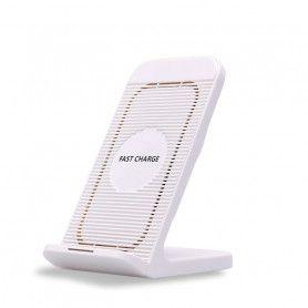 Stand de incarcare telefoane Wireless Qi si Fast Charge cu ventilator  - 3