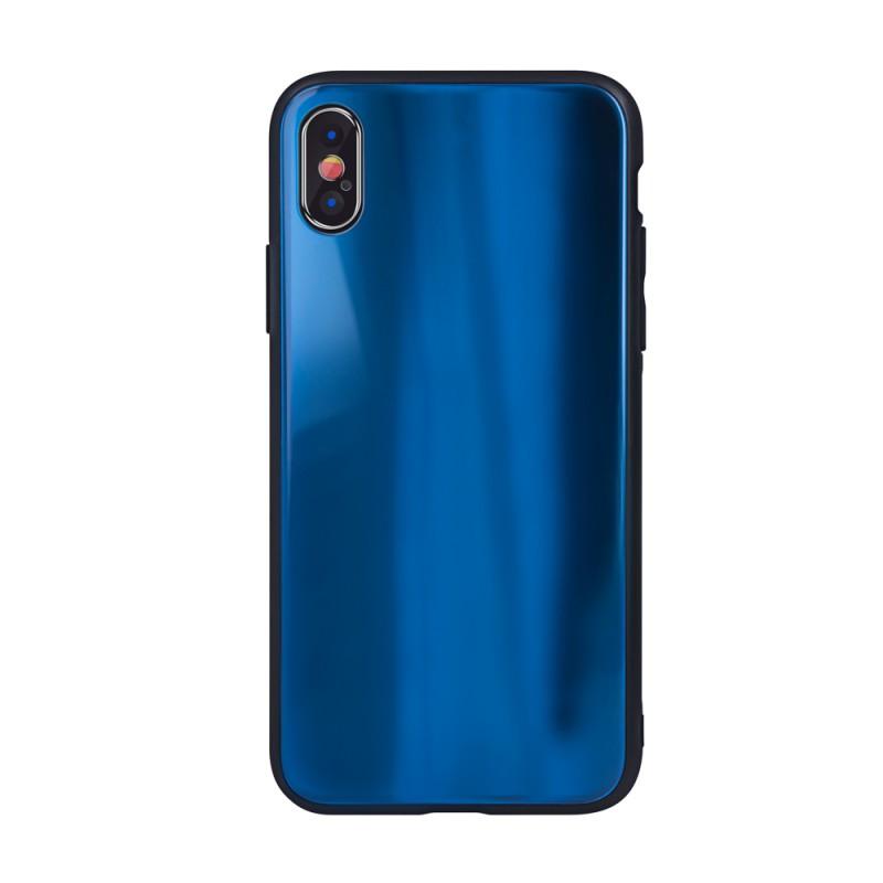 Husa Huawei P Smart (2019) - Aurora Glass, Dark Blue  - 1