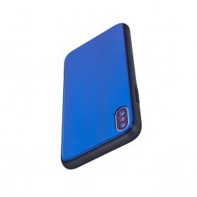 Husa Huawei P Smart (2019) - Aurora Glass, Dark Blue  - 3