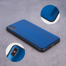 Husa Huawei P Smart (2019) - Aurora Glass, Dark Blue  - 4