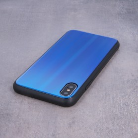 Husa Huawei P Smart (2019) - Aurora Glass, Dark Blue  - 5