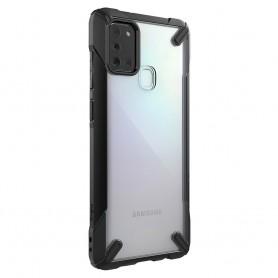 Husa Samsung Galaxy A21s - Ringke Fusion X, Neagra Ringke - 2
