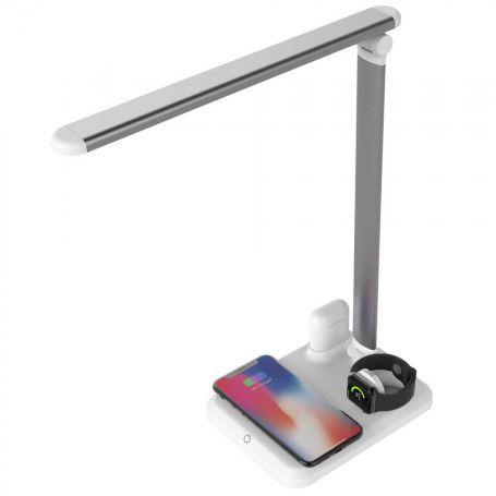 Lampa Led de birou 4 in 1 Apple Mate, cu functii de incarcare compatibila cu Apple Watch, Airpods, iPhone la pret imbatabile de 199,00LEI , intra pe PrimeShop.ro.ro si convinge-te singur