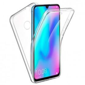 Husa Huawei P30 Lite - Silicon Tpu Full 360 ( Fata+Spate) , transparenta  - 1
