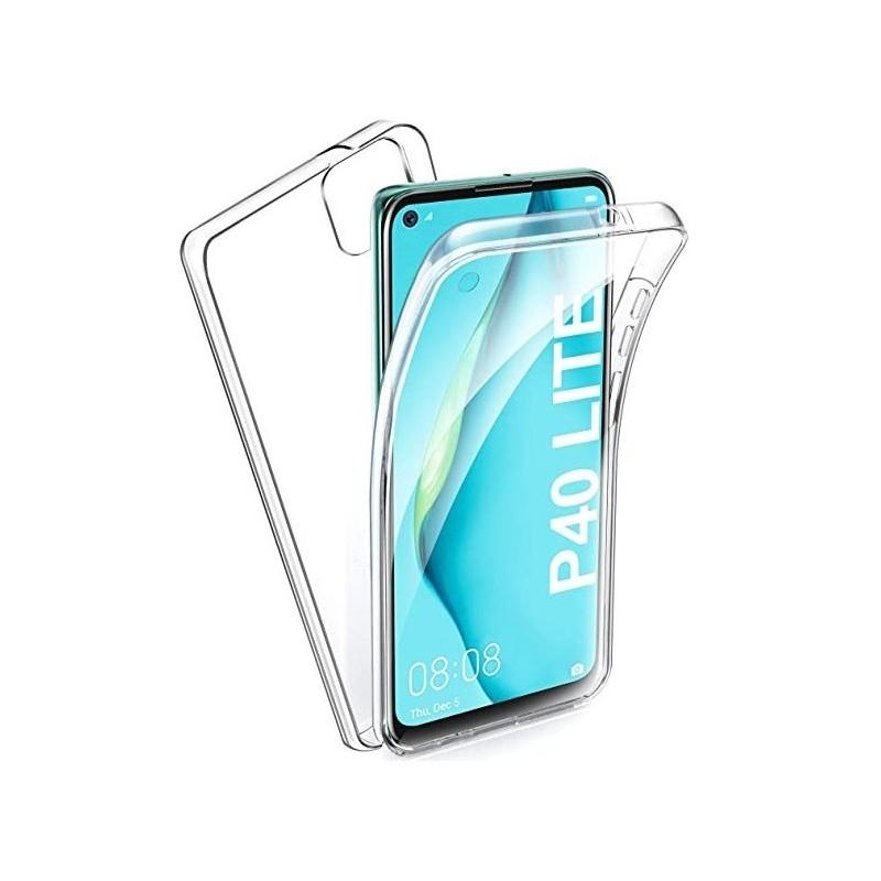 Husa Huawei P40 Lite - Silicon Tpu Full 360 ( Fata+Spate) , transparenta  - 1