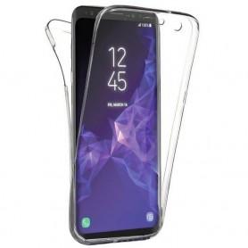 Husa Samsung Galaxy S8 - Silicon Tpu Full 360 ( Fata+Spate) , transparenta  - 1
