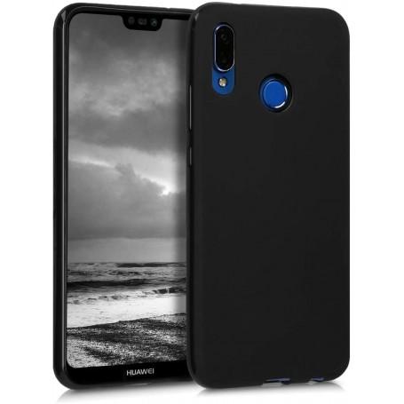 Husa Silicon Huawei P20 Lite, interior din microfibra, Neagra la pret imbatabile de 54,00lei , intra pe PrimeShop.ro.ro si convinge-te singur