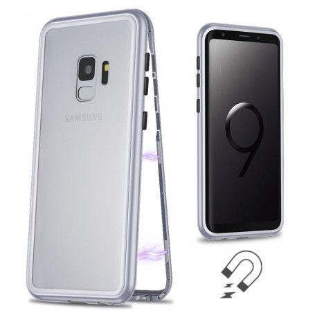 Husa Magnetica cu bumper din aluminiu si spate din sticla pentru Samsung Galaxy S9 la pret imbatabile de 54,90LEI , intra pe PrimeShop.ro.ro si convinge-te singur
