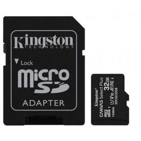 Card de memorie Kingston MicroSD, Canvas Select Plus, 32GB, Class 10 UHS-I, cu Adaptor  - 2