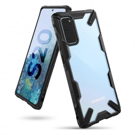 Husa Samsung Galaxy S20 - Ringke Fusion X, Neagra la pret imbatabile de 82,99lei , intra pe PrimeShop.ro.ro si convinge-te singur