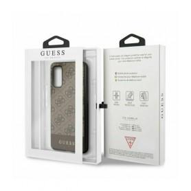 Husa Premium Originala Guess Samsung S20 ,colectia 4G Stripe, Maro Guess - 5