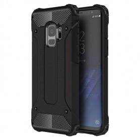 Husa Tpu Hybrid Armor pentru Samsung S9 , Neagra  - 1