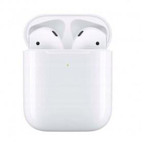 Casti wireless i500 TWS, Bluetooth 5.0, iOS/Android, Alb  - 1