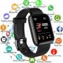Smartwatch Bratara Ceas Fitness M116, Negru