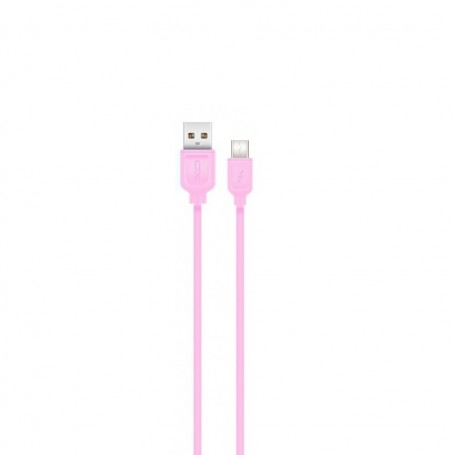 Cablu de date - XO NB36 - Usb Type-C, 2.1A, 100cm, Roz la pret imbatabile de 26,99lei , intra pe PrimeShop.ro.ro si convinge-te singur