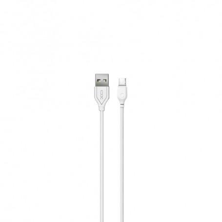 Cablu de date - XO NB103 - Micro-usb - 2.1A - 100cm, Alb la pret imbatabile de 25,99lei , intra pe PrimeShop.ro.ro si convinge-te singur