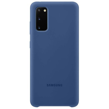 Husa Originala Samsung Galaxy S20, Silicon Navy Blue la pret imbatabile de 93,00lei , intra pe PrimeShop.ro.ro si convinge-te singur
