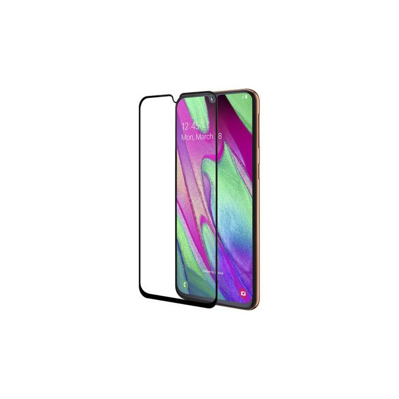 Folie Protectie Ecran pentru Samsung Galaxy A31 , Sticla securizata, Neagra  - 1