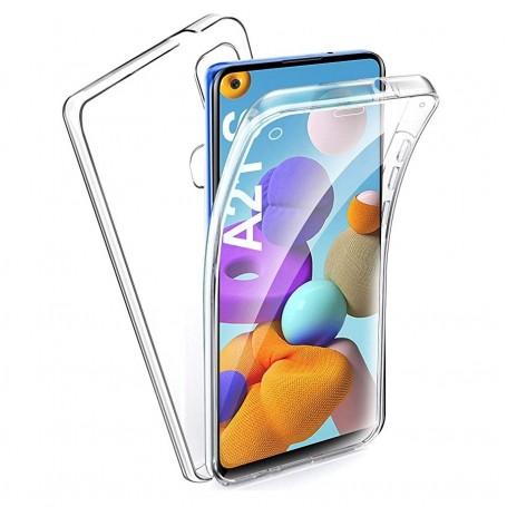 Husa Samsung Galaxy A21s - Silicon Tpu Full 360 ( Fata+Spate) , transparenta la pret imbatabile de 39,00lei , intra pe PrimeShop.ro.ro si convinge-te singur