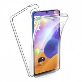 Husa Samsung Galaxy A31 - Silicon Tpu Full 360 ( Fata+Spate) , transparenta  - 1