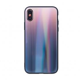 Husa Aurora Gradient Glass pentru Samsung Galaxy S20  - 11