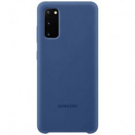 Husa Originala Samsung Galaxy S20+ Plus, Silicon Navy Blue  - 1
