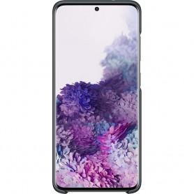 Husa Originala Samsung Galaxy S20+ Plus, Capac Spate LED, Neagra  - 3