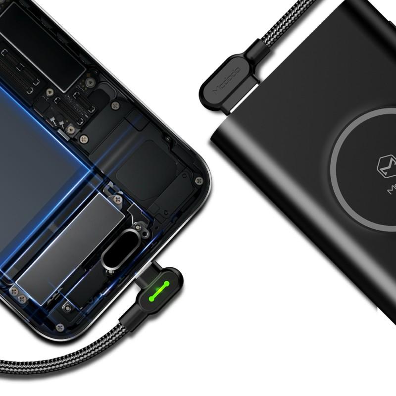 Cablu de date si incarcare Usb Type-C 90 Grade - Mcdodo