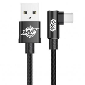 Cablu de date Baseus MVP Elbow USB Type-C, 1m, 2A, Negru Baseus - 1