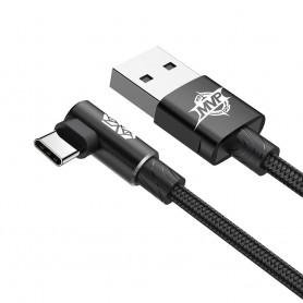 Cablu de date Baseus MVP Elbow USB Type-C, 1m, 2A, Negru Baseus - 2