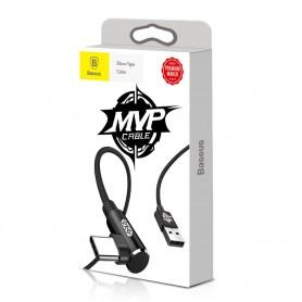 Cablu de date Baseus MVP Elbow USB Type-C, 1m, 2A, Negru Baseus - 7