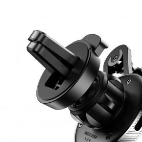 Suport auto Baseus YY Vent Mount + Cablu incarcare iPhone Lightning Baseus - 9