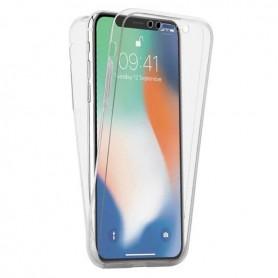 Husa iPhone 12 Pro Max - Silicon Tpu Full 360 ( Fata+Spate) , transparenta  - 1