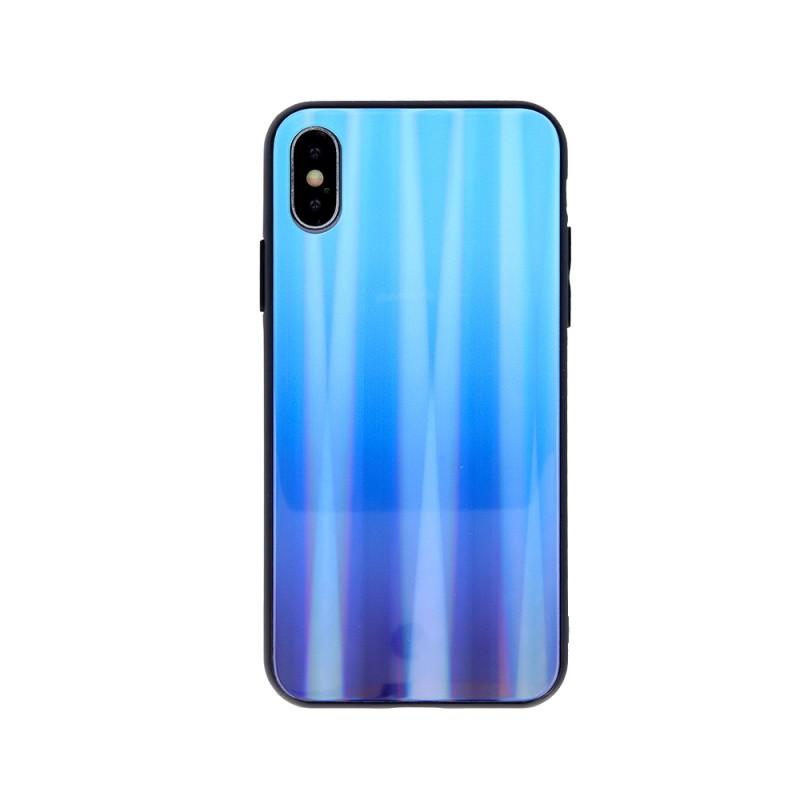 Husa Aurora Gradient Glass pentru Samsung Galaxy A21s  - 21