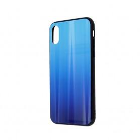 Husa Aurora Gradient Glass pentru Samsung Galaxy A21s  - 22