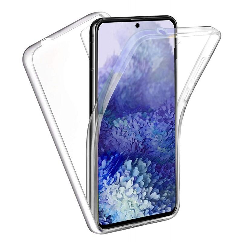 Husa Samsung Galaxy S20+ Plus - Silicon Tpu Full 360 ( Fata+Spate) , transparenta  - 1