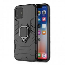 Husa iPhone 12 Pro Max - Armor Ring Hybrid, Neagra  - 1