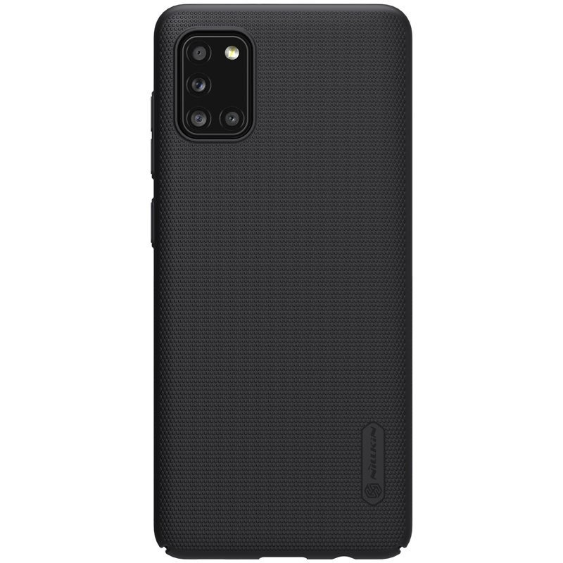 Husa Samsung Galaxy A31 - Nillkin Super Frosted Shield, Neagra  - 1