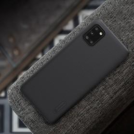 Husa Samsung Galaxy A31 - Nillkin Super Frosted Shield, Neagra  - 7