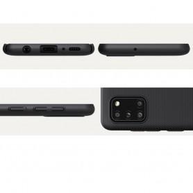 Husa Samsung Galaxy A31 - Nillkin Super Frosted Shield, Neagra  - 6