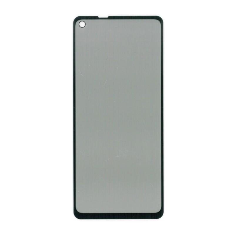 Folie protectie Samsung Galaxy A21s , sticla securizata, Privacy Anti Spionaj, Neagra