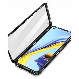 Husa Magnetica 360 cu sticla fata spate, pentru Samsung Galaxy A21s  - 2