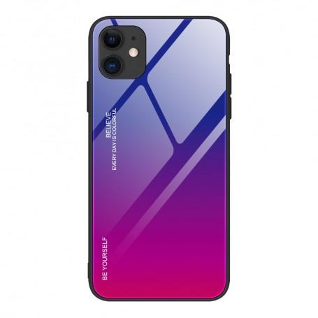 Husa iPhone 12 / iPhone 12 Pro - Gradient Glass, Albastru cu Violet la pret imbatabile de 49,00lei , intra pe PrimeShop.ro.ro si convinge-te singur