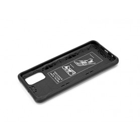 Husa Samsung Galaxy A41 - Tpu Hybrid Stand, Neagra  - 5