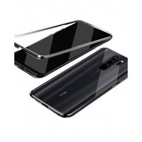 Husa Magnetica 360 cu sticla fata spate, pentru Xiaomi Redmi Note 8 Pro  - 1