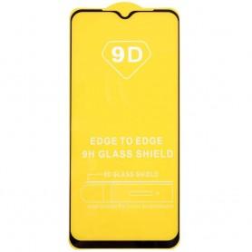 Folie Protectie Ecran pentru Xiaomi Redmi 9, Sticla securizata, Neagra  - 1