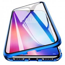 Husa Magnetica 360 cu sticla fata spate, pentru Samsung Galaxy A21s  - 4