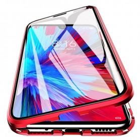 Husa Magnetica 360 cu sticla fata spate, pentru Samsung Galaxy A21s  - 5